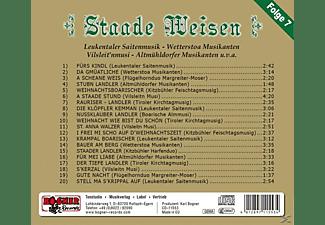 VARIOUS - STAADE WEISEN,7-INSTRUMENTAL  - (CD)