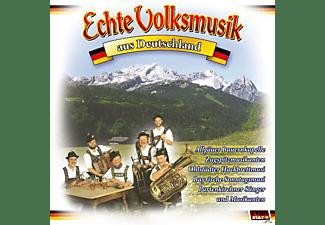 VARIOUS - Echte Volksmusik aus Deutschland  - (CD)