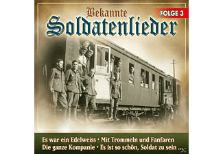 VARIOUS - Bekannte Soldatenlieder Folge 3  - (CD)