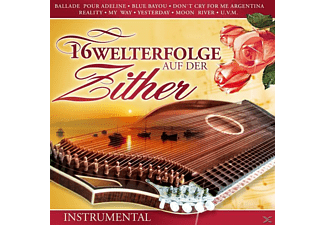VARIOUS - 16 Welthits auf der Zither  - (CD)