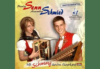Nicolas Senn - Mit Schwung durchs Alpenland  - (CD)