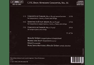 Miklos Spanyi - Klavierkonzerte Vol. 16  - (CD)