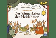 James Krüss - Der Sängerkrieg der Heidehasen-Live! - (CD)