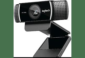 Webcam FullHD - Logitech C922 Pro Stream, Trípode, tecnología Personify, campo de visión de 78