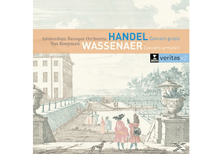 Ton Koopman, Amsterdam Baroque Orchestra, VARIOUS - Concerti Grossi op.6/Concerti Armonici  - (CD)