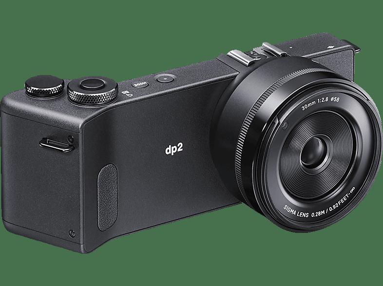 SIGMA dp2 Quattro inkl. LCD Sucher Digitalkamera 29 Megapixel mit Objektiv 30 mm