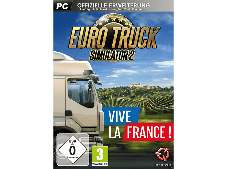 Euro Truck Simulator 2: Vive la France ! [PC]