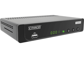 SCHWAIGER DTR 600 HD Receiver (DVB-T2 HD, Schwarz)