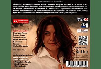 Liana Gourdjia, Katia Skanavi - WORKS FOR VIOLIN & PIANO/VIOLIN CONCERTO  - (CD)