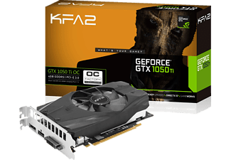KFA2 GeForce® GTX 1050 Ti OC 4GB (50IQH8DSN8OK) (NVIDIA, Grafikkarte)
