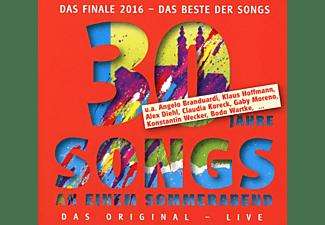 Wecker,Konstantin,  Branduardi,Angelo,  Moreno,Ga - Songs an einem Sommerabend.30 Jahre  - (CD)