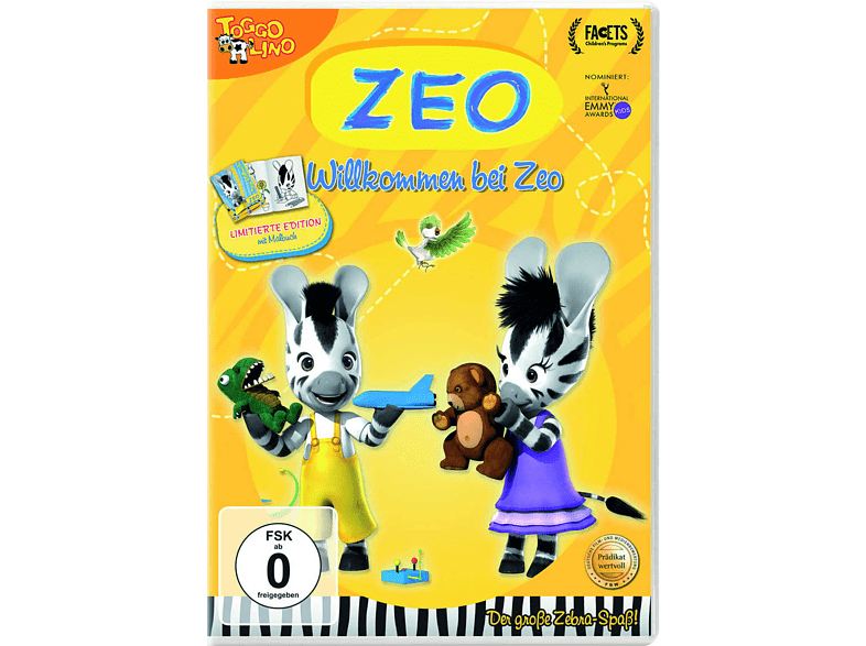 ZEO - Willkommen bei ZEO - Teil 1 - mit Ausmalheft [DVD]