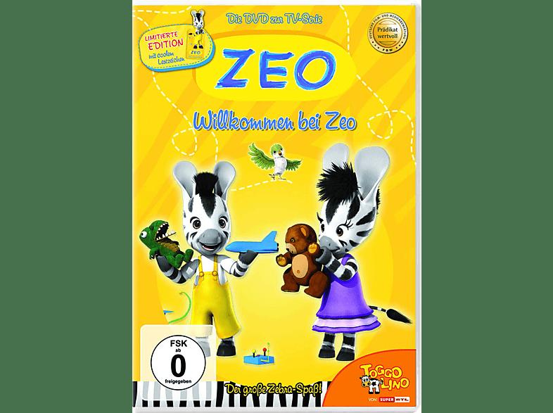 ZEO - Willkommen bei ZEO - Teil 1 - mit Lesezeichen [DVD]