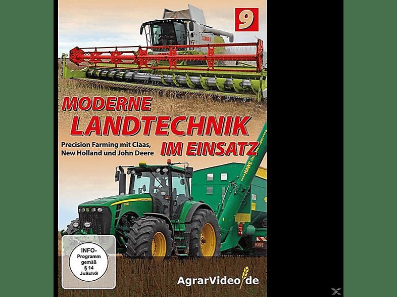 Moderne Landtechnik im Einsatz – Teil 9 -Precision Farming mit Claas, New Holland und John Deere [DVD]