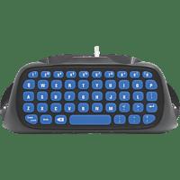 SNAKEBYTE SB909900 PS4 KEY:PAD™ - Controller Tastatur, Schwarz/Blau