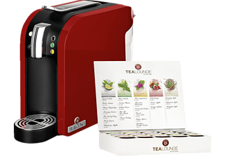 TEEKANNE 7120 Tealounge System Teemaschine (1455 Watt , Rot)
