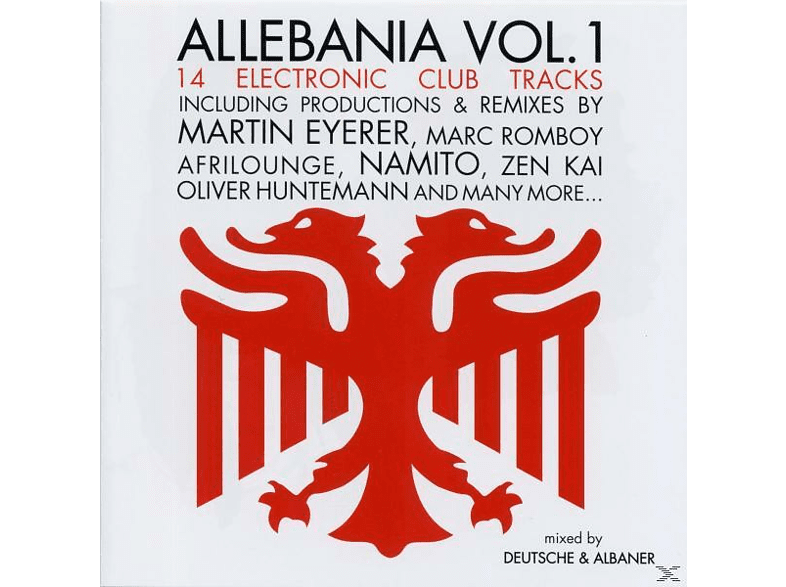 VARIOUS - allebania vol.1 [CD]