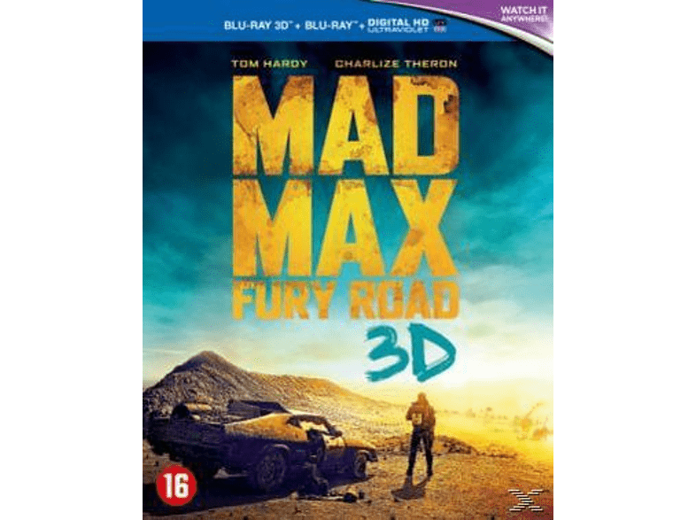 Mad Max - Fury Road 3D Blu-Ray