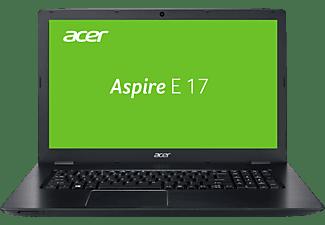 ACER Aspire E 17 (E5-774G-73JZ), Notebook mit 17,3 Zoll Display, Core™ i7 Prozessor, 8 GB RAM, 128 GB SSD, 1 TB HDD, GeForce 940MX, Schwarz