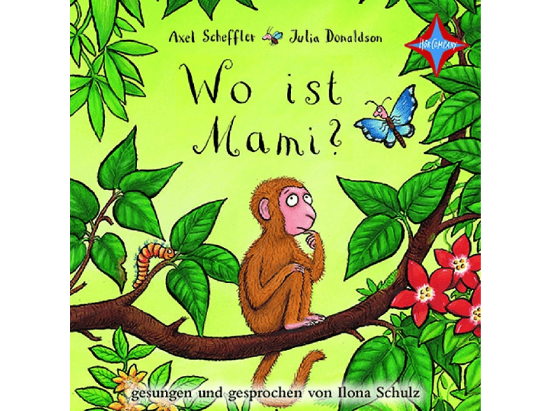 Donaldson,Julia/Scheffler,Axel - Wo ist Mami? - (CD)