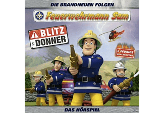 Feuerwehrmann Sam - Feuerwehrmann Sam-Blitz Und Donner Teil 5  - (CD)