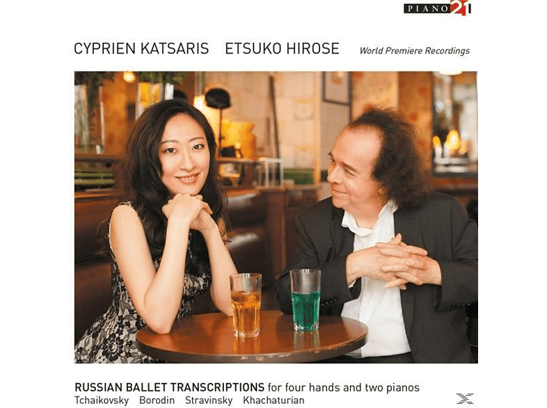 Cyprien Katsaris, Etsuko Hirose - RUSSIAN BALLET TRANSCRIPTIONS FOR FOUR HANDS AND [CD]