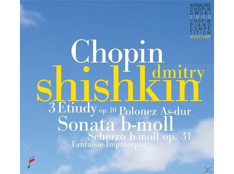 Dmitry Shishkin - 3 Etudes op.10 & Sonata In b flat minor & Polonai [CD]