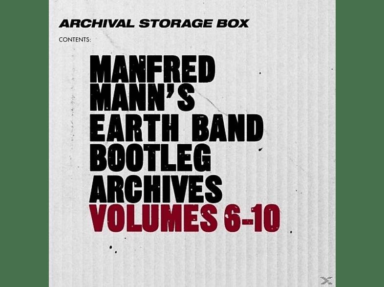 Manfred Mann's Earth Band - Bootleg Archives Volumes 6-10 (5CD Box Set) [CD]