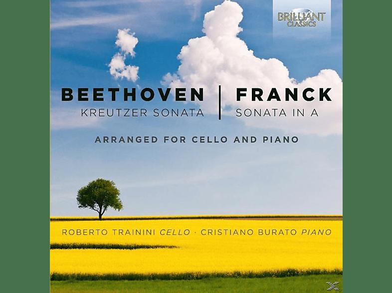 ROBERTO TRAININI/CHRISTIANO BURATO/ - Kreutzer Sonata/Sonata In A [CD]