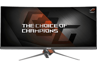 "Monitor Gaming - Asus Rog Swift PG348Q, Curvo, 34"", Ultrapanorámico QHD, 21:9, 100 Hz, 5 ms, G-Sync"