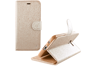 VOLTE-TEL Θήκη Huawei Y3 II 4.5 Leather Gold-TPU Book Stand - (5205308172830)