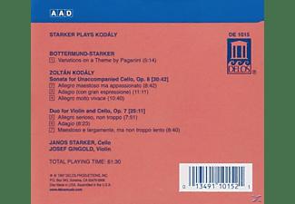 Janos Starker, Josef Gingold - Starker Plays Kodaly  - (CD)
