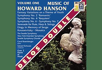 VARIOUS, Schwarz, Seattle So - Music Of Howard Hanson Vol.1  - (CD)