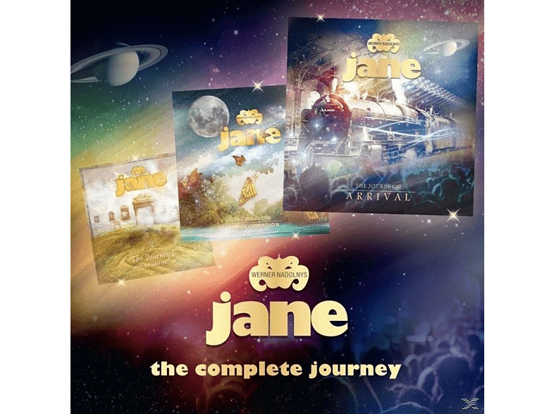 Werner Nadolny's Jane - The Complete Journey [CD]