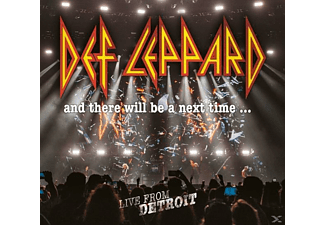 Def Leppard - And There Will Be A Next Time...Live From Detroit  - (CD + DVD Video)