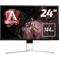 AOC AGON AG241QX 23.8 Zoll QHD Gaming Monitor (1 ms Reaktionszeit, FreeSync, 144 Hz)