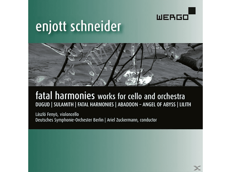 Laszlo Fenyo - Fatal Harmonies-Works For Cello And Orchestra [CD]