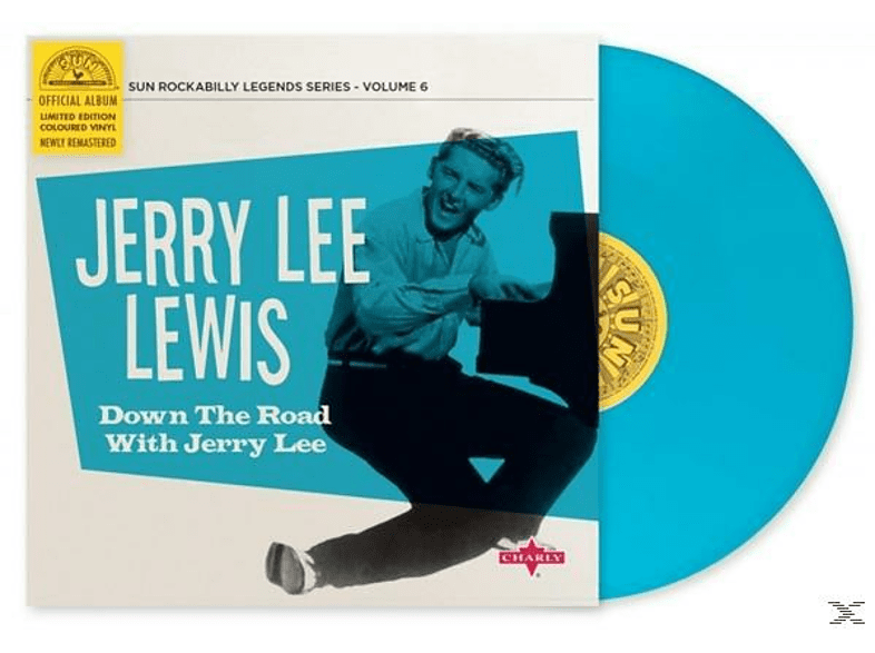 Jerry Lee Lewis - Down The Road With Jerry Lee [EP (analog)]