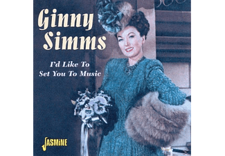 Ginny Simms - I'd Like To Set You To Music  - (CD)