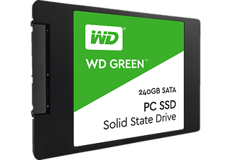 WD Green™ PC Festplatte, 240 GB SSD SATA 6 Gbps, 2,5 Zoll, intern