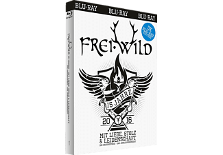 Frei.Wild - 15 Jahre Mit Liebe,Stolz Und Leidenschaft  - (Blu-ray)