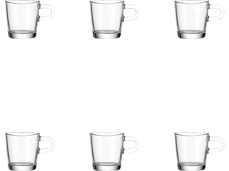 LEONARDO 043363 Loop 6-tlg. Espressotassen-Set