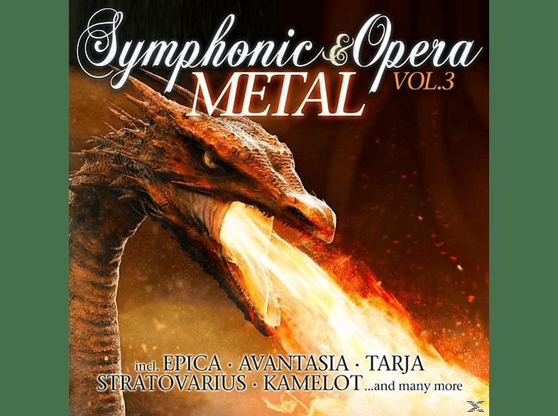 VARIOUS - Symphonic & Opera Metal Vol.3 [CD]