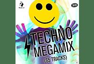 VARIOUS - Techno Megamix (65 Tracks) [CD]