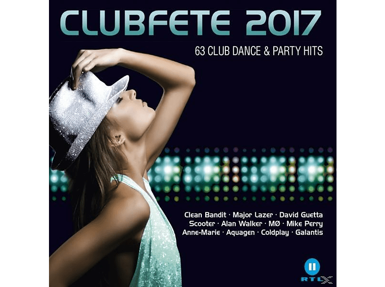 VARIOUS - Clubfete 2017-63 Club Dance & Party Hits [CD]