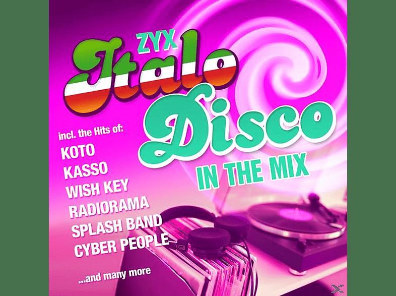 VARIOUS - ZYX Italo Disco In The Mix [CD]
