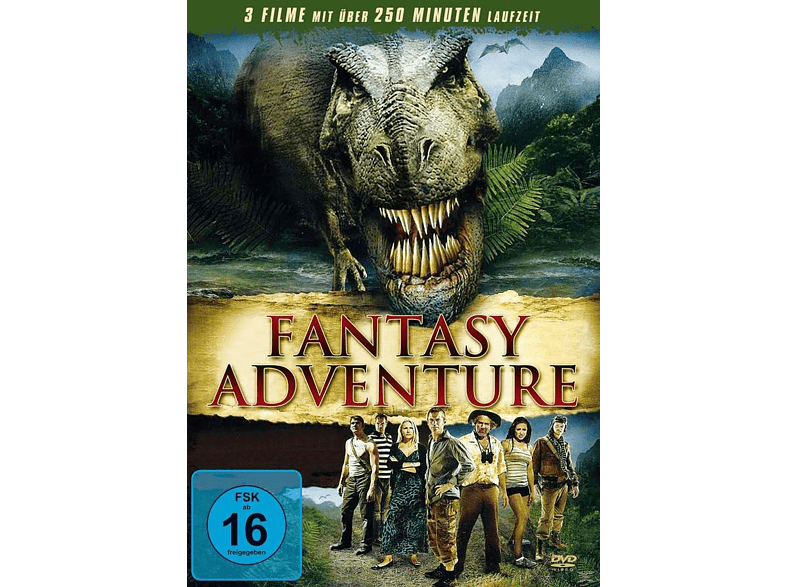 Dinosaurier Action, Fantasy Adventure: The Land That Time Forgot, 100 Million BC, Princess of Mars [DVD]