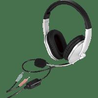 ISY PC-Headset, schwarz-grau