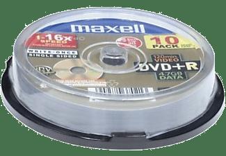 MAXELL Rohlinge DVD+R 4.7 GB, 10er-Pack