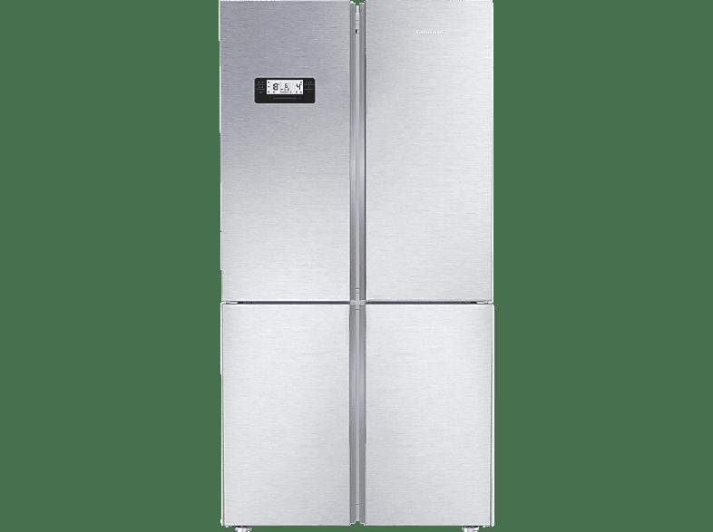 GRUNDIG GQN 21225 X  Side-by-Side (356 kWh/Jahr, A++, 1790 mm hoch, Edelstahl)